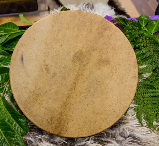 Red Deer hide shamanic drum